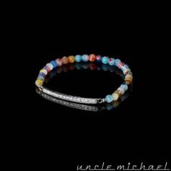 Bracelet Gomgom Jewelry et Uncle Michael Perle de Mille Fiori